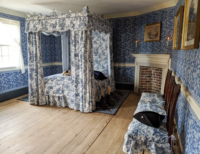One of the bedrooms inside George Washington's house at Mount Vernon | Another long weekend in Washington, D.C.