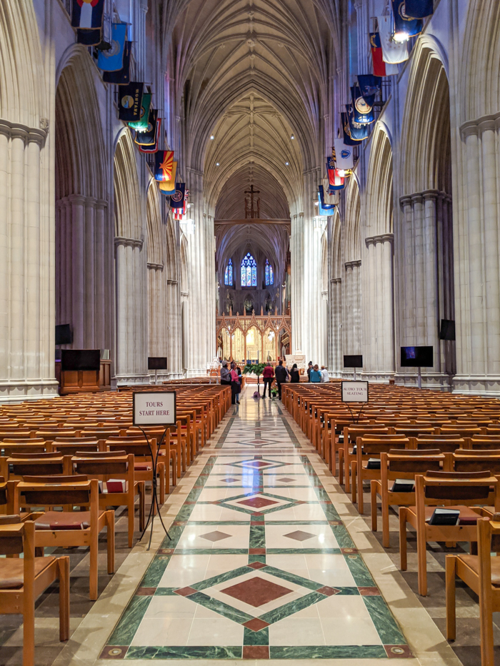 Interior of Washington National Cathedral | Another long weekend in Washington, D.C.