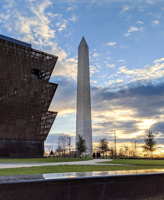 Washington Monument and Museum of African American History and Culture | Another long weekend in Washington, D.C.