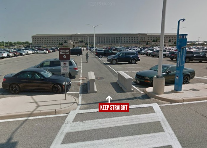 Pentagon City Parking Garage - Where is the Pentagon Visitor Center - How to get to the Pentagon for your tour