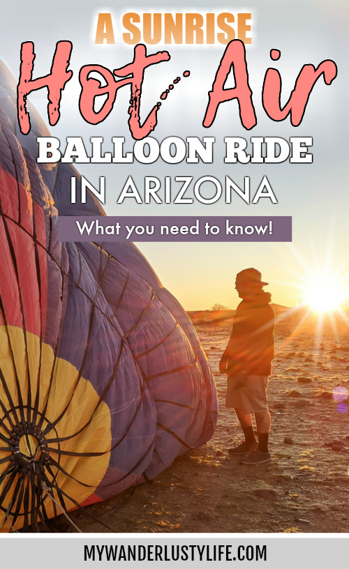 What You Need to Know for Your Sunrise Hot Air Balloon Ride in Arizona   Scottsdale and Phoenix, Arizona hot air balloon rides with Hot Air Expeditions #hotairballoon #balloonride #hotairexpeditions #arizona #scottsdale #phoenix #bucketlist