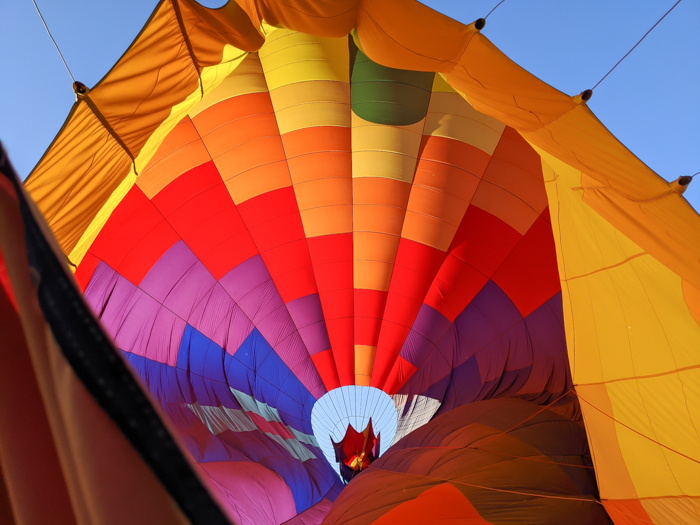 delating the balloon   What You Need to Know for Your Sunrise Hot Air Balloon Ride in Arizona   Scottsdale and Phoenix, Arizona hot air balloon rides with Hot Air Expeditions