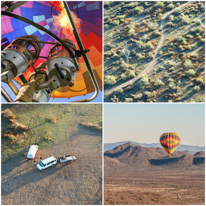 What you'll see from a hot air balloon in arizona   What You Need to Know for Your Sunrise Hot Air Balloon Ride in Arizona   Scottsdale and Phoenix, Arizona hot air balloon rides with Hot Air Expeditions
