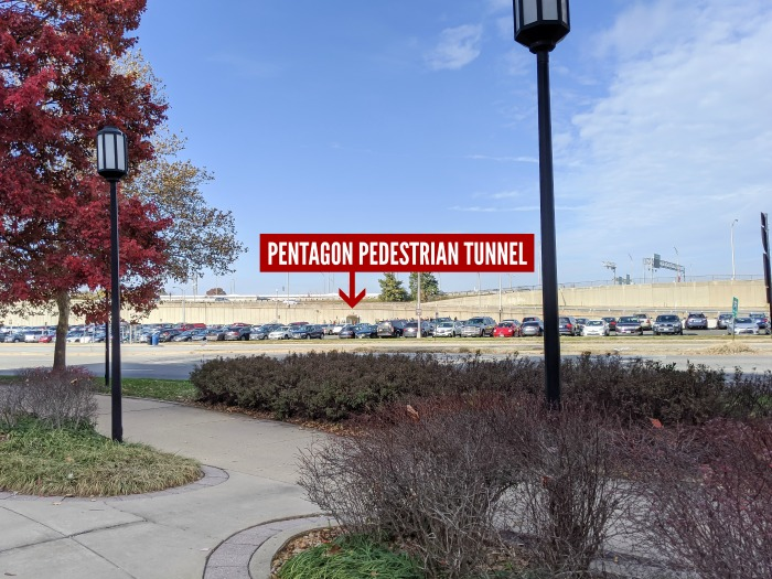 How to get to the Pentagon for your tour | Where is the Pentagon pedestrian tunnel? How to walk to the Pentagon for a tour