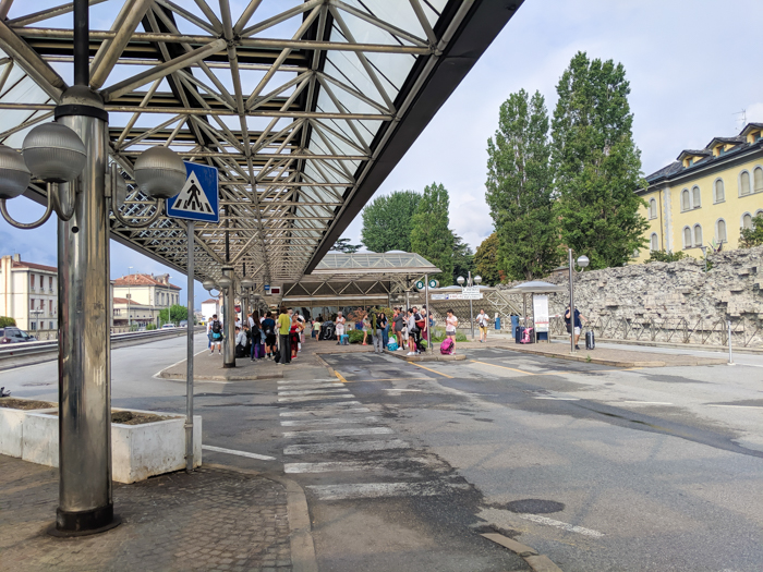 How to get to Aosta, Italy, bus station   How to Spend 1 Day in Aosta, Italy // The Capital of the Aosta Valley   Things to see in Aosta, Things to do in Aosta, Where to eat in Aosta, the smallest of Italy's 20 regions #aosta #italy #aostavalley #traveltips #timebudgettravel