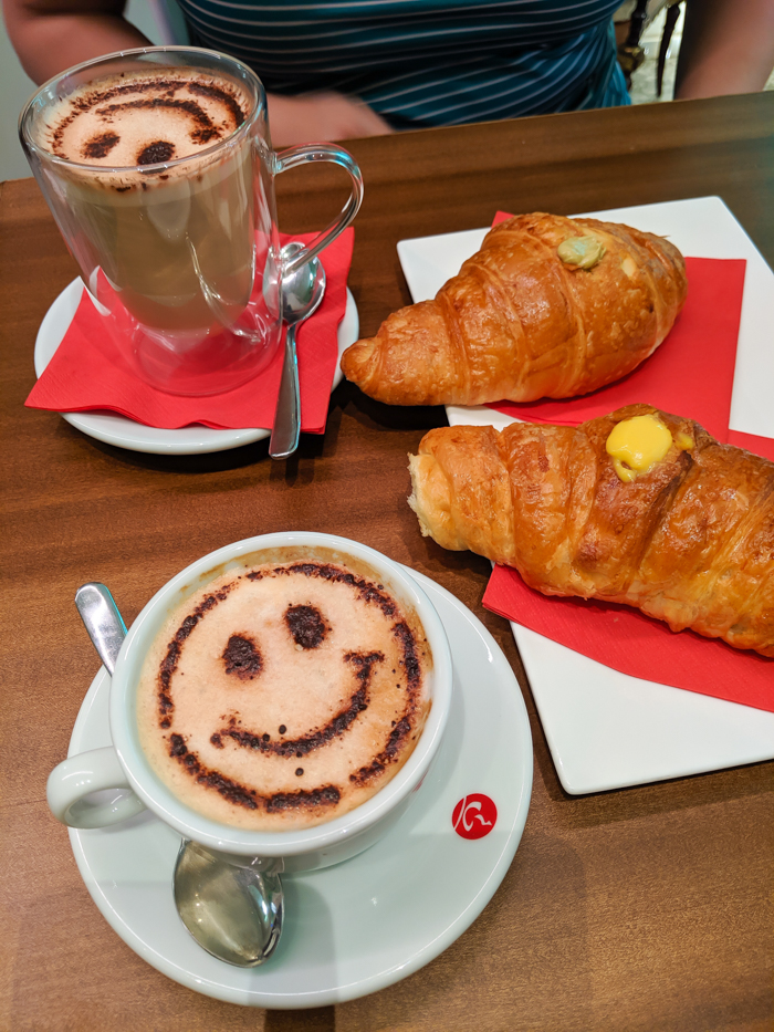Breakfast and coffee at Latteria 37   How to Spend 1 Day in Aosta, Italy // The Capital of the Aosta Valley   Things to see in Aosta, Things to do in Aosta, Where to eat in Aosta, the smallest of Italy's 20 regions #aosta #italy #aostavalley #traveltips #timebudgettravel