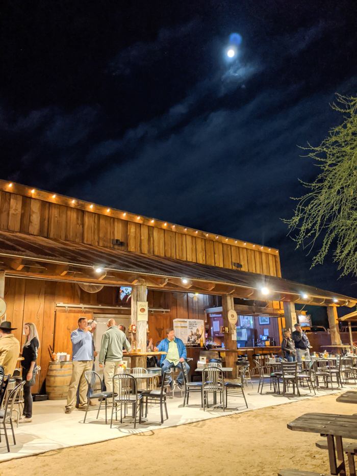 4 Days in Scottsdale, Arizona // A Jam-Packed Itinerary With a Bit of Everything | Things to do in Scottsdale: live bull riding at the Buffalo Chip Saloon in Cave Creek, Arizona #saloon #cavecreek #scottsdale #arizona #bullriding