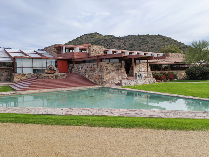 4 Days in Scottsdale, Arizona // A Jam-Packed Itinerary With a Bit of Everything | Things to do in Scottsdale: Frank Lloyd Wright's Taliesin West tour, #scottsdale #franklloydwright #architecture
