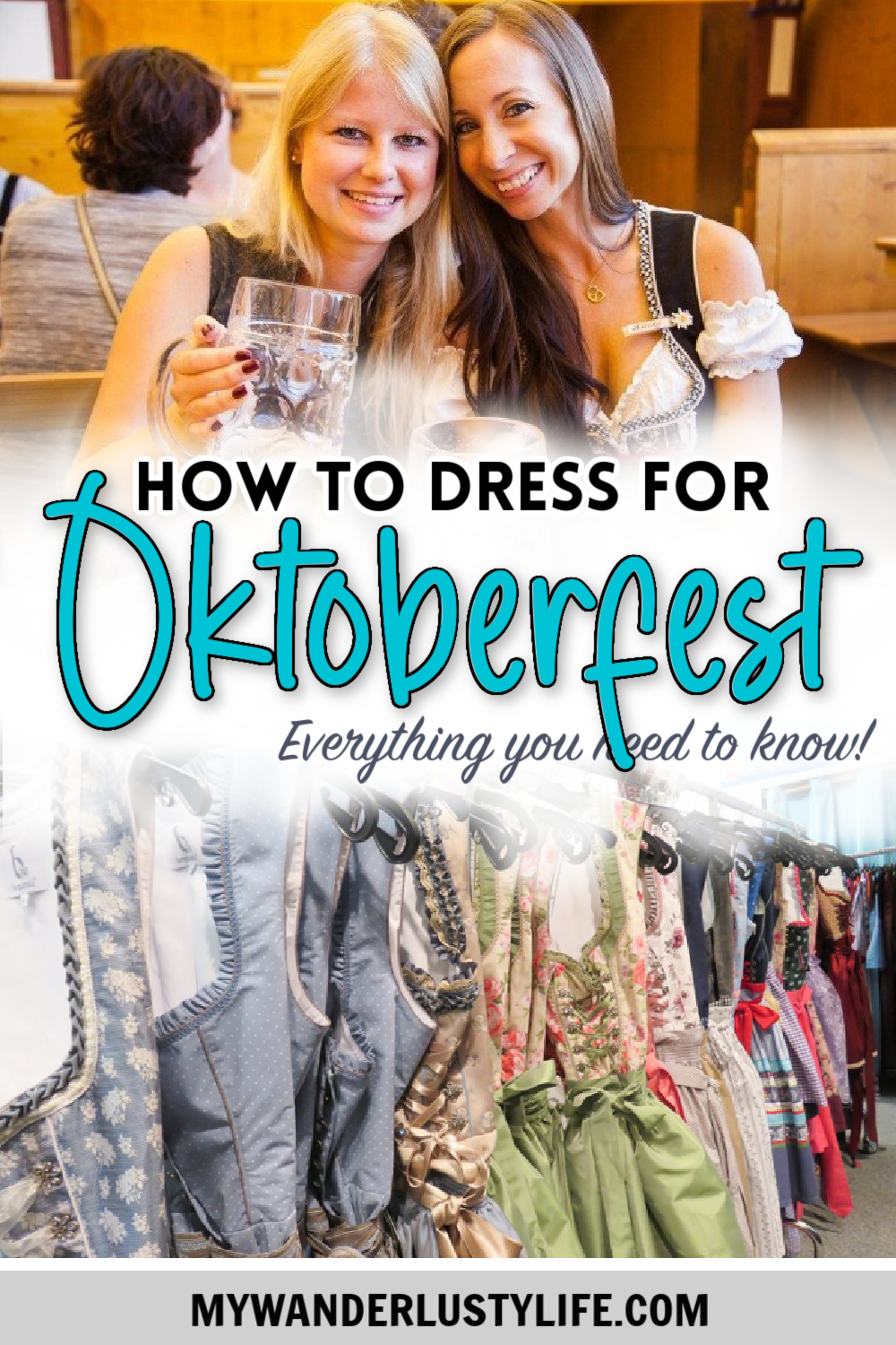 How to dress for Oktoberfest, a Complete and Honest Oktoberfest Packing Guide for dirndls | What to wear to Oktoberfest in Munich, Germany #oktoberfest #dirndl #munich #germany #festival #beerfestival #lederhosen
