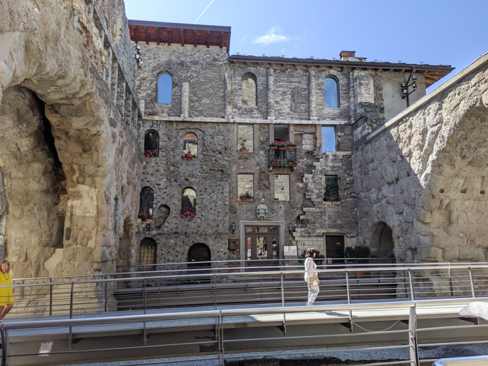 Porta Pretoria and the Aosta tourism office   How to Spend 1 Day in Aosta, Italy // The Capital of the Aosta Valley   Things to see in Aosta, Things to do in Aosta, Where to eat in Aosta, the smallest of Italy's 20 regions #aosta #italy #aostavalley #traveltips #timebudgettravel