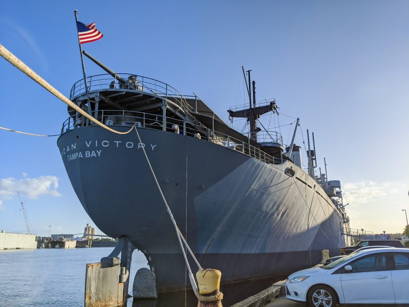 7 Terrific Tours to Take in Tampa, Florida | SS American Victory Ship & Museum, WWII cargo ship #tampa #florida #ship #WWII