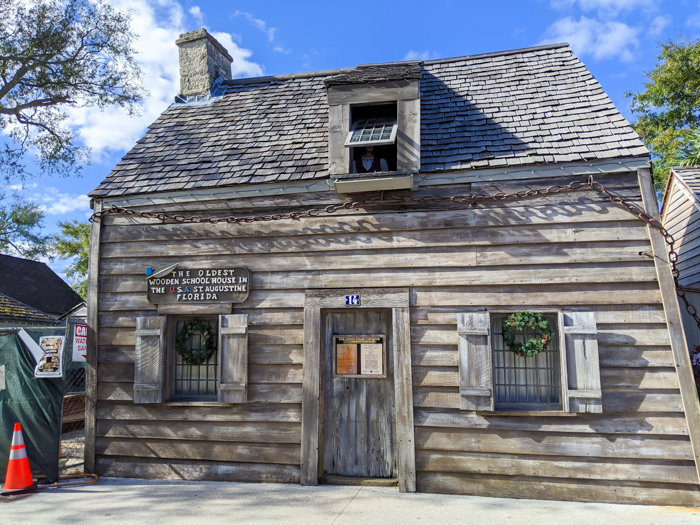 Oldest school house / 1 day in St. Augustine, Florida: A quick trip to America's oldest city / 24 hours in St. Augustine / day trip to St. Augustine from Jacksonville or day trip to St. Augustine from Orlando