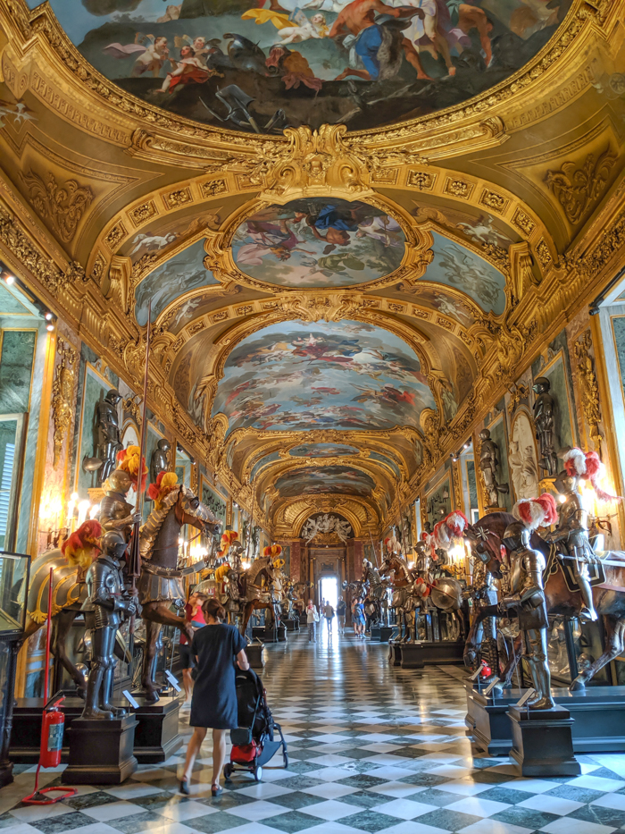 Royal armory | How to Spend 2 Days in Turin, Italy (Torino) | 2-Day Itinerary plus helpful tips | Where to stay in Turin, Things to do in Turin, the capital of the Piedmont region | #turin #torino #italy #weekendinturin #traveltips