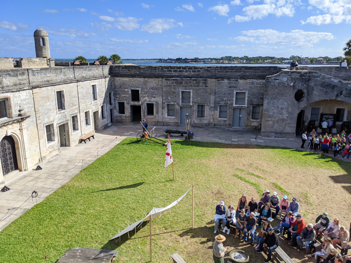 Castillo de San Marcos / 1 day in St. Augustine, Florida: A quick trip to America's oldest city / 24 hours in St. Augustine / day trip to St. Augustine from Jacksonville or day trip to St. Augustine from Orlando
