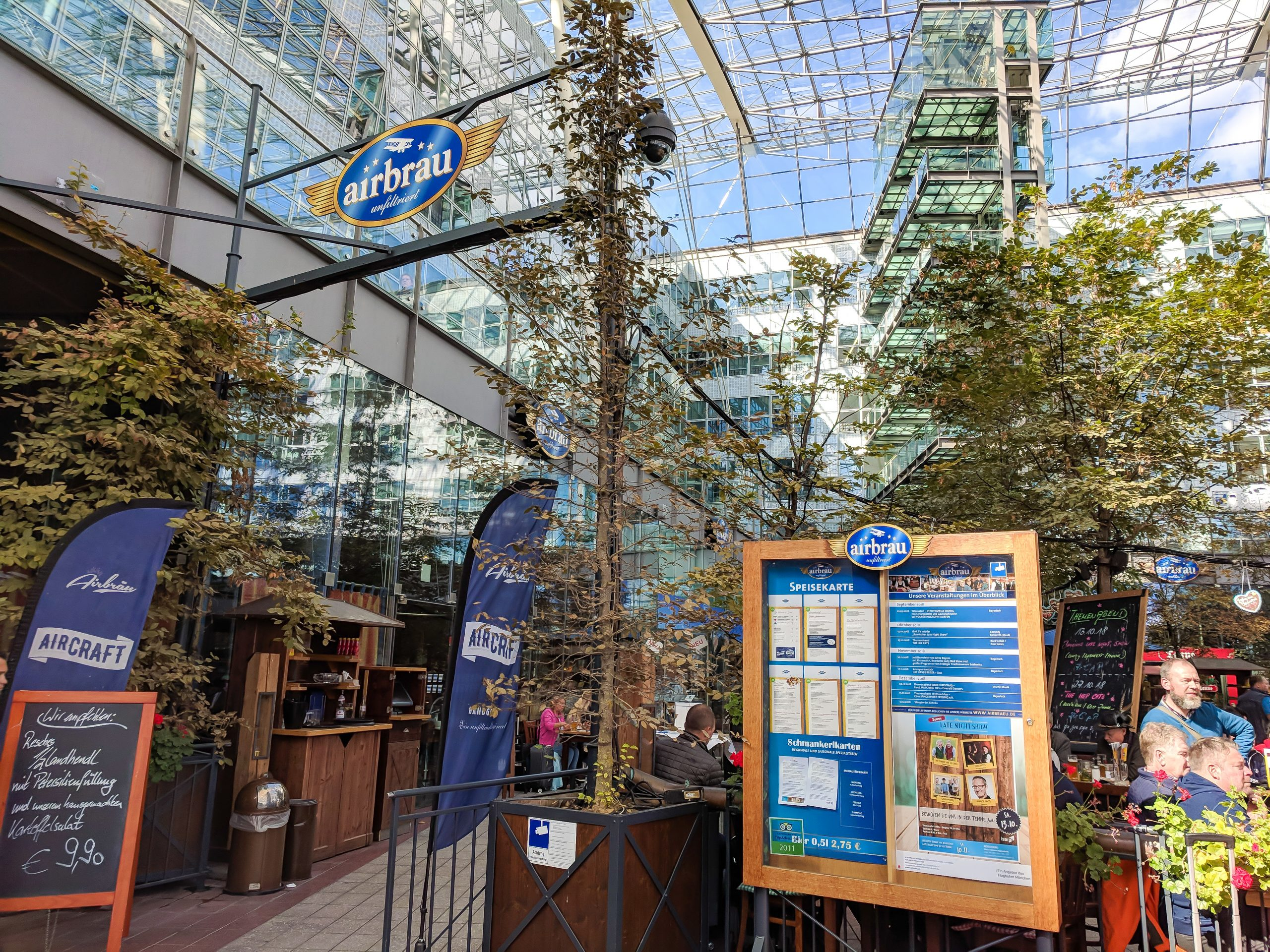 All About Airbrau The Munich Airport Brewery You Shouldn T Roll Past