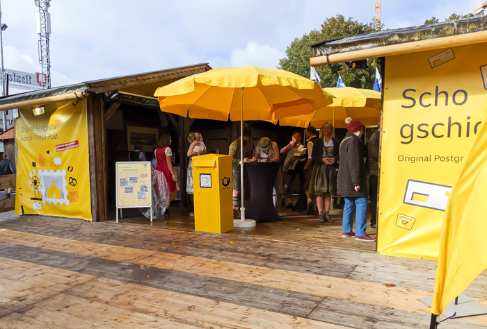 Oktoberfest post office / Must-Know Oktoberfest tips from an Oktoberfest tour guide and locals / what you need to know about oktoberfest in munich, germany