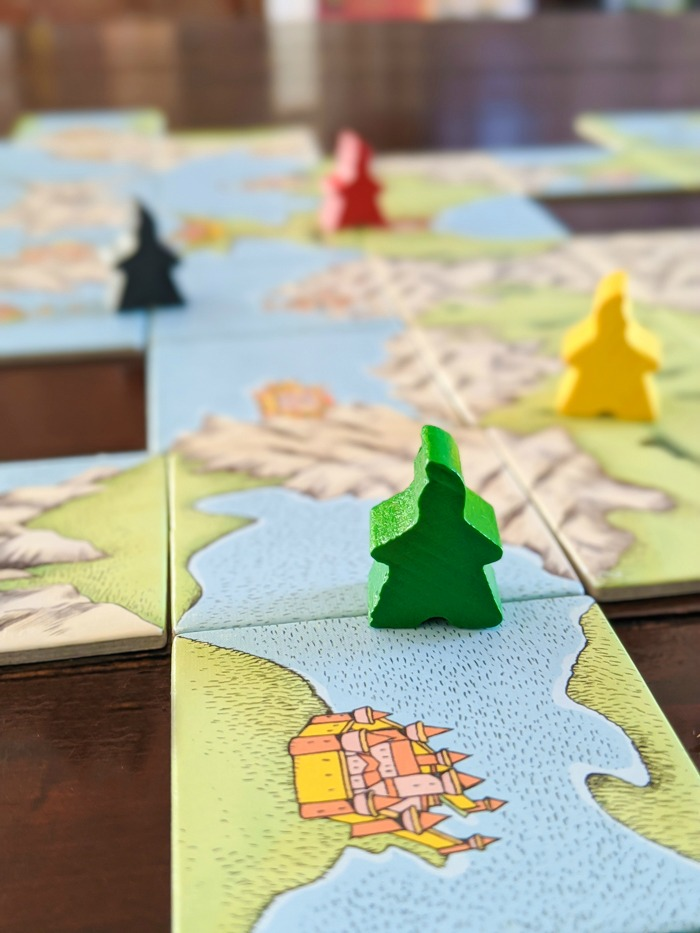 Carcassonne Discovery / 17 Travel-Themed Board Games for When You Can't Leave the House #boardgame #tickettoride #travelgames