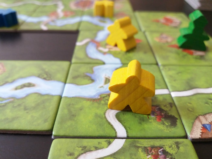 Carcassonne / 17 Travel-Themed Board Games for When You Can't Leave the House #boardgame #tickettoride #travelgames