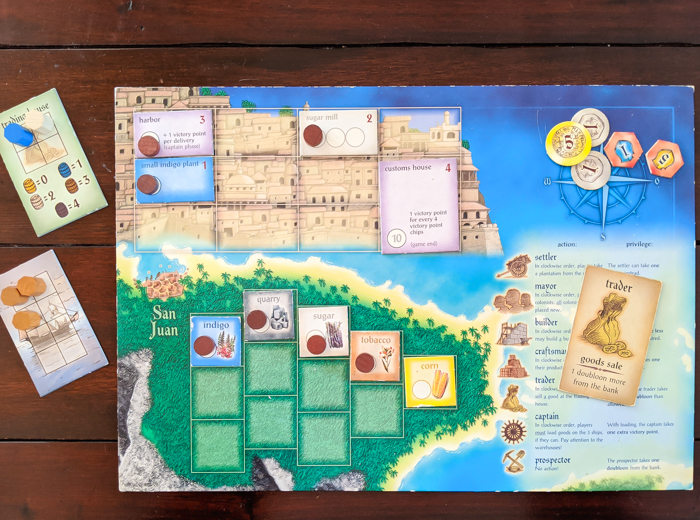 puerto rico / 17 Travel-Themed Board Games for When You Can't Leave the House #boardgame #tickettoride #travelgames