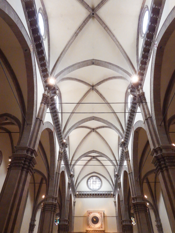 The interior ceiling of Il Duomo, Cathedral of Santa Marie del Fiore / 2 days in Florence, Italy