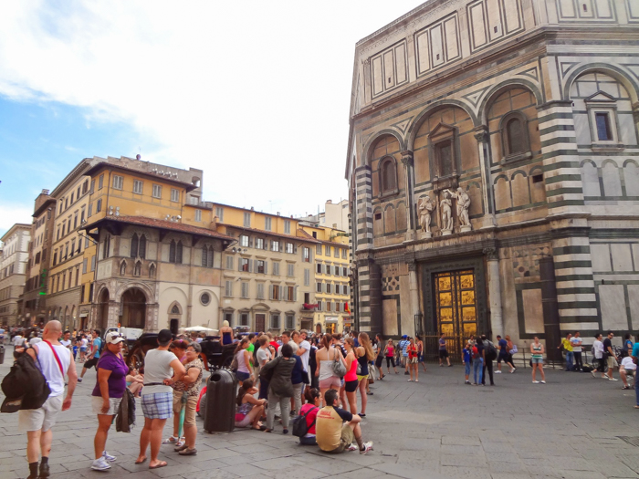 Baptistery and the Gates of Paradise / 2 days in Florence, Italy