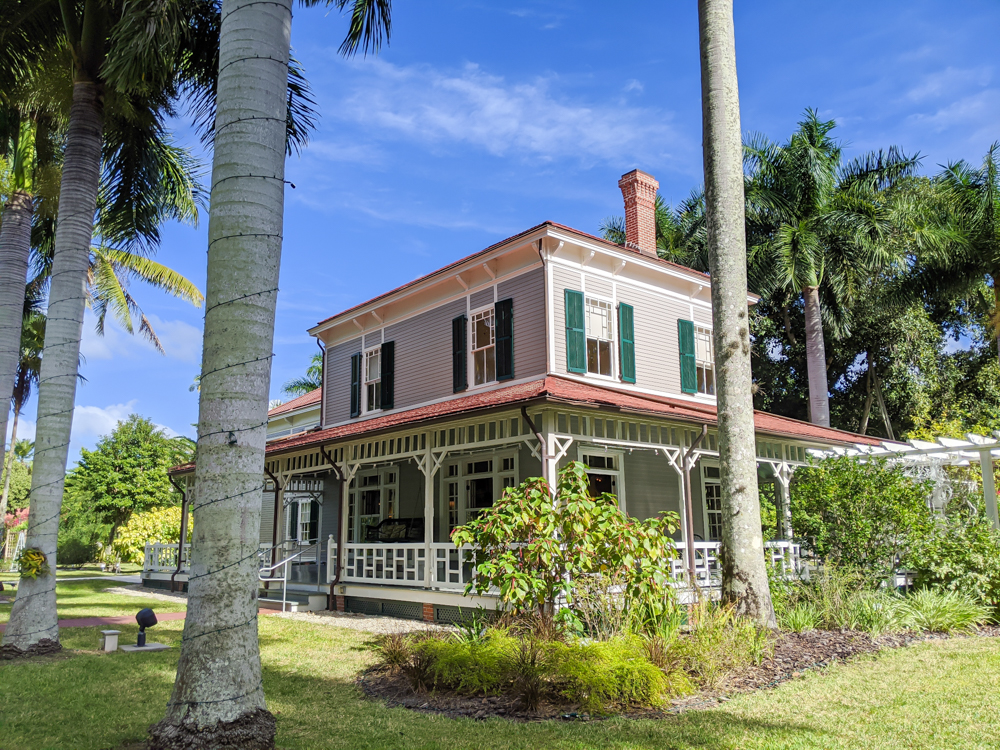 2 days in Fort Myers, Florida, a fun weekend itinerary: Edison and Ford Winter Estates, Homes