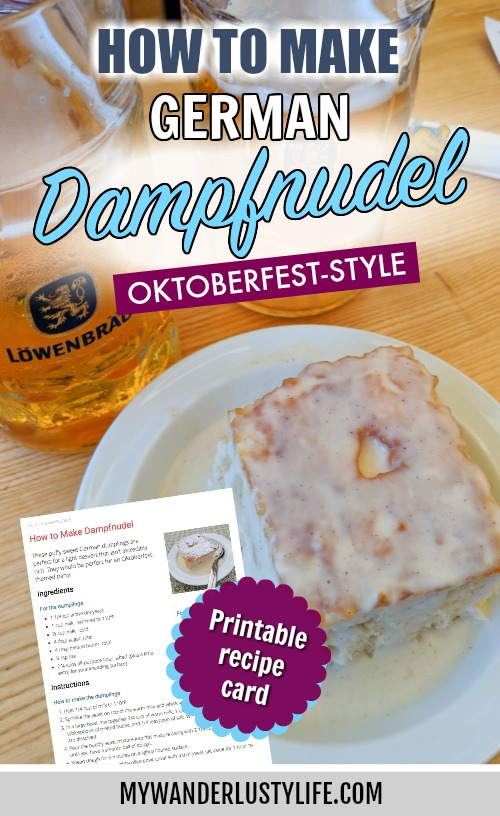 How to Make Dampfnudel: Southern Germany's Sweet Yeast Treat