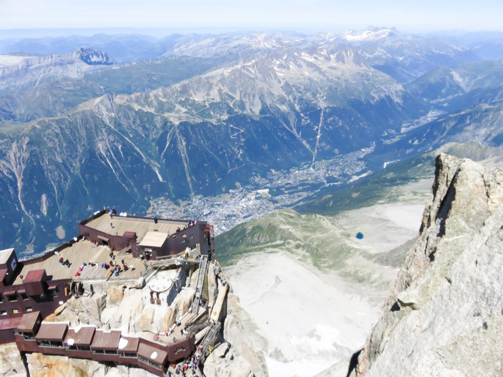 Aiguille du Midi summer visitor's guide, Chamonix, France: viewing platforms