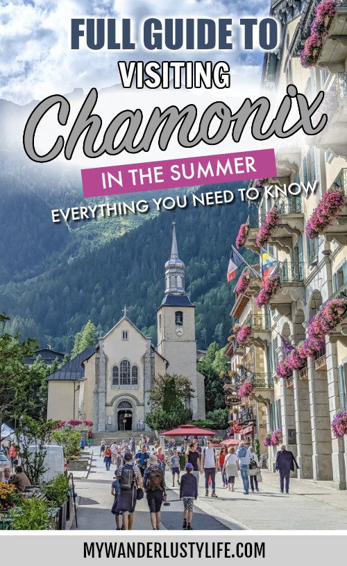 Chamonix in the summer full travel guide / Where to stay in Chamonix, Where to eat in Chamonix, how to get to Chamonix, where to shop in chamonix, the difference between chamonix and les houches, what to do in chamonix, how to save money when visiting chamonix, chamonix travel tips #chamonix #leshouches #alps #tourdumontblanc #traveltips #travelguide #french alps #savoie #mywanderlustylife