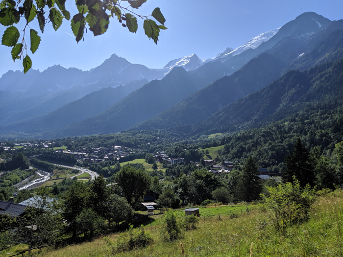 Chamonix in the summer travel guide: the difference between chamonix and les houches