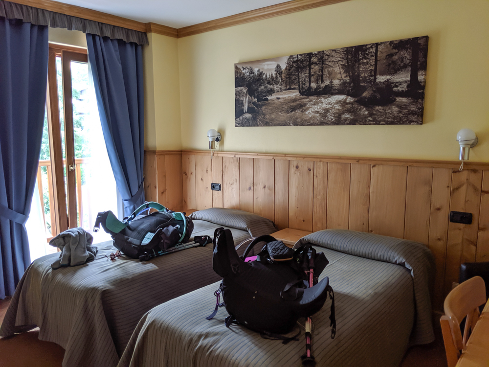 Day trip to Courmayeur, Italy from Chamonix, France / where to stay in courmayeur / Hotel Crampon