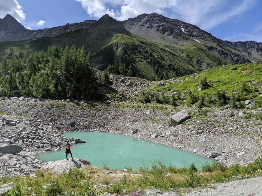 Day trip to Courmayeur, Italy from Chamonix, France / best day hike from courmayeur, val veny, lago del miage