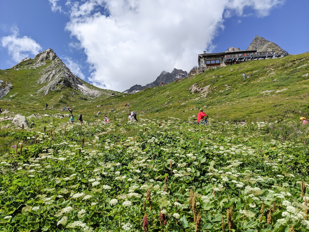 Day trip to Courmayeur, Italy from Chamonix, France / best day hike from courmayeur, val veny, rifugio elisabetta