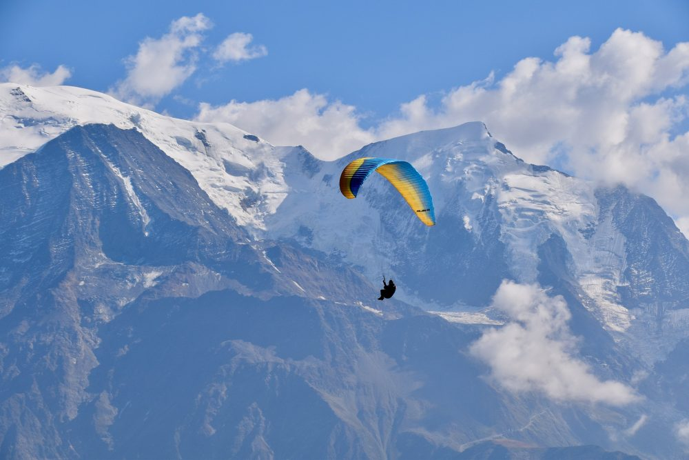 Awesome things to do in Chamonix in the summer: Alpine bucket list / paragliding