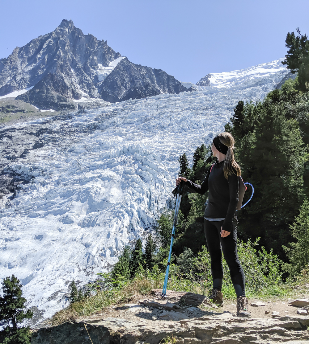 Awesome things to do in Chamonix in the summer: Alpine bucket list / glacier des bossons hike