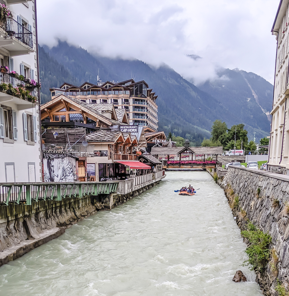 Awesome things to do in Chamonix in the summer: Alpine bucket list / river rafting