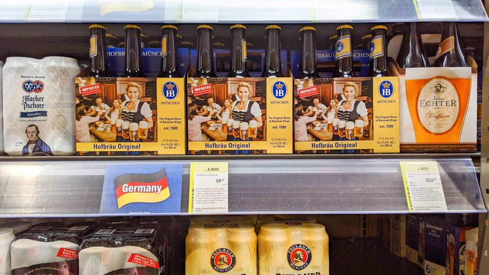 Oktoberfest party beer: What kind of beer to serve at your oktoberfest party | Hofbrau beers at Total Wine