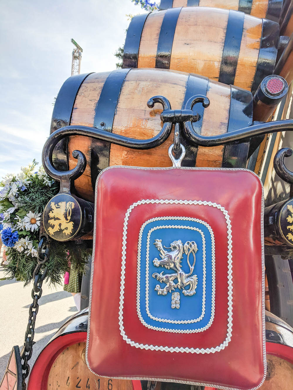 Oktoberfest party beer: What kind of beer to serve at your oktoberfest party   Lowenbrau beer barrels