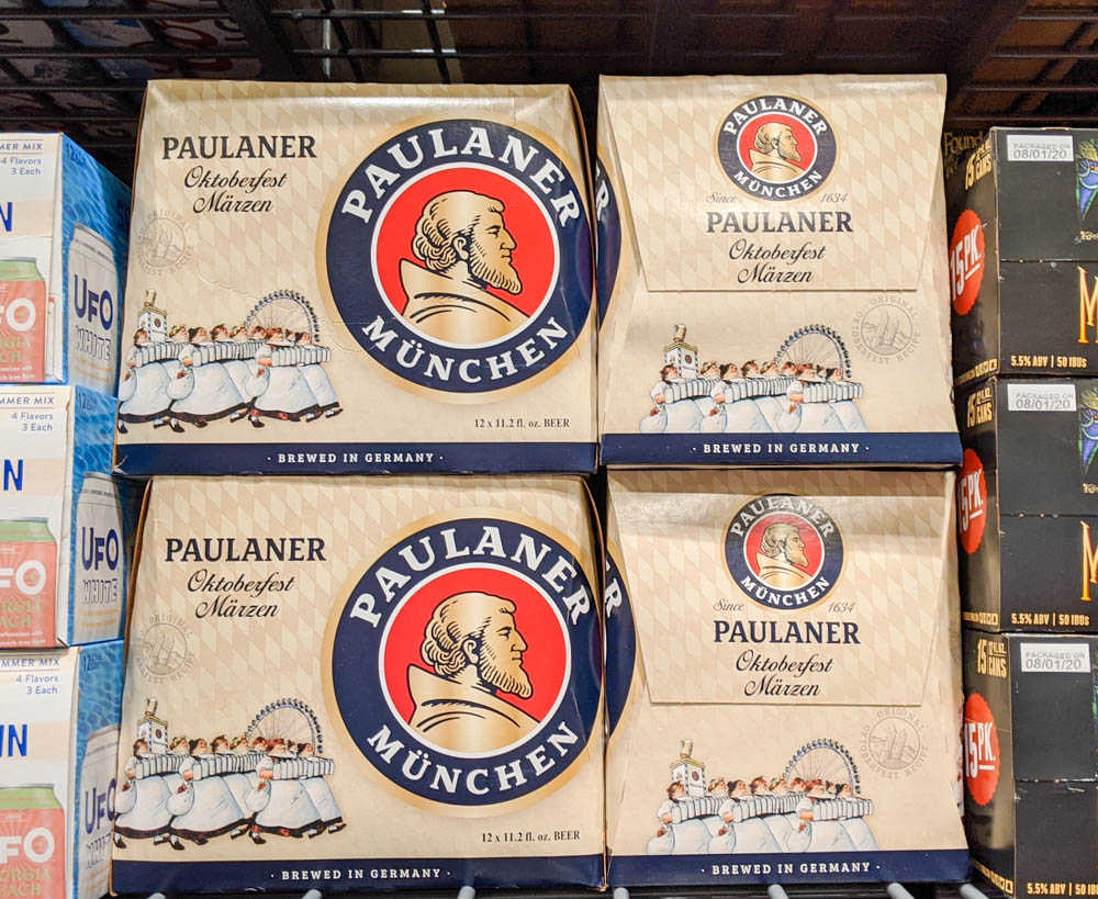 Oktoberfest party beer: What kind of beer to serve at your oktoberfest party   Paulaner Oktoberfest from Munich, Germany