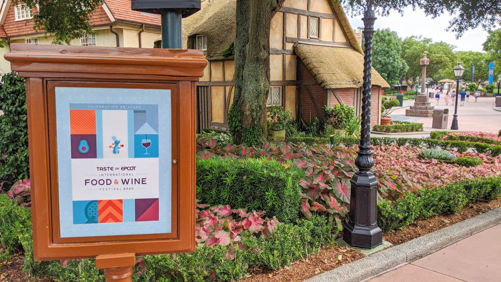 Visiting Disney World During the Pandemic: Everything You're Dying to Know | Disney World in 2020, what it's like to visit disney world right now. | Epcot International Food and Wine Festival