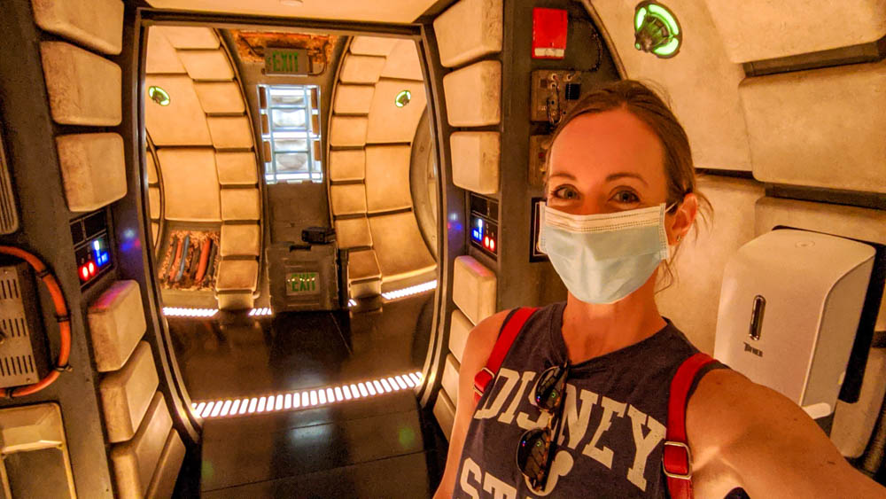 Visiting Disney World During the Pandemic: Everything You're Dying to Know | Disney World in 2020, what it's like to visit disney world right now. | Alone on the Millennium Falcon