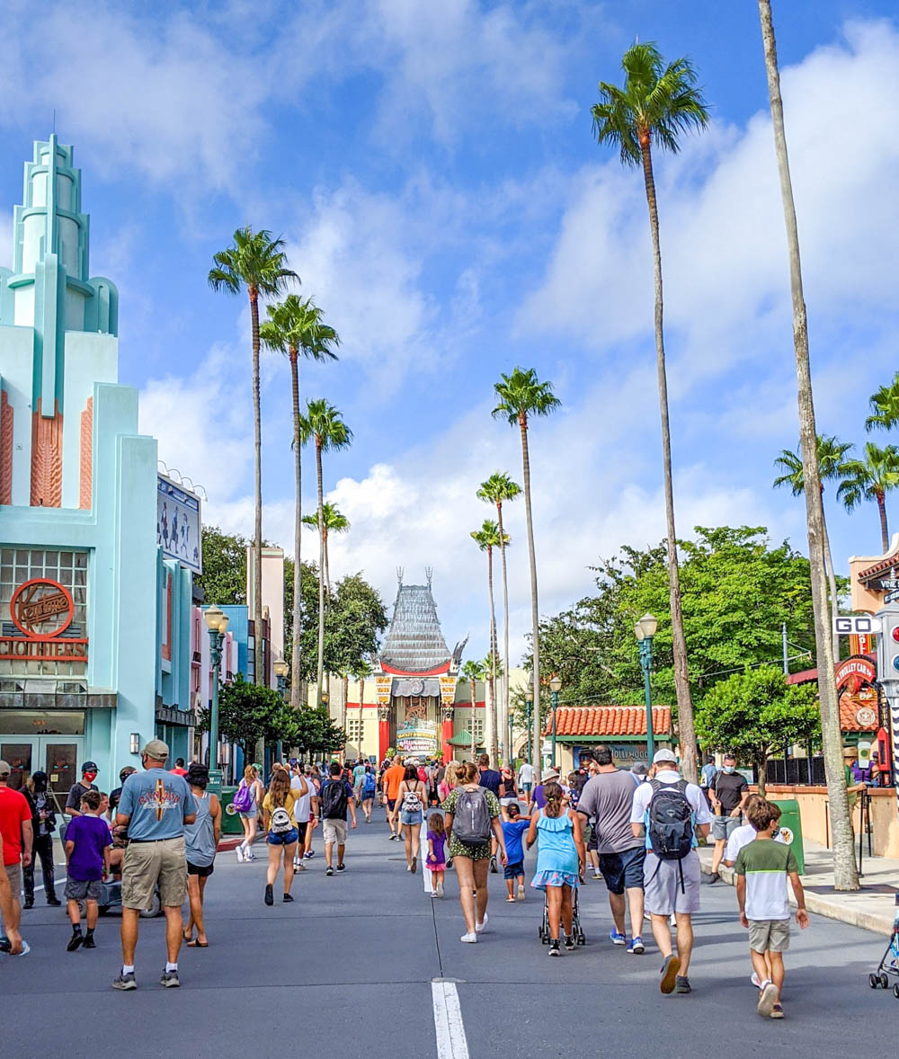 Visiting Disney World During the Pandemic: Everything You're Dying to Know | Disney World in 2020, what it's like to visit disney world right now. | Hollywood Studios entrance