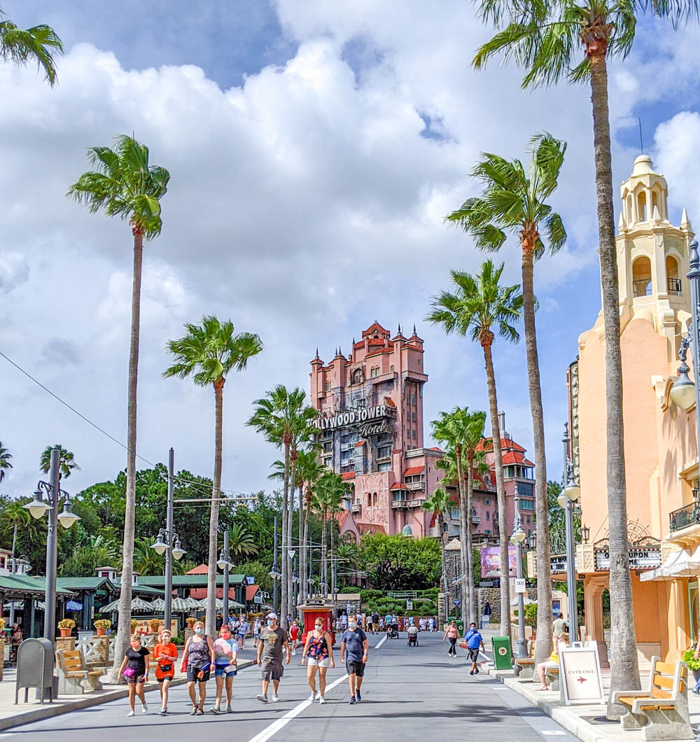 Visiting Disney World During the Pandemic: Everything You're Dying to Know | Disney World in 2020, what it's like to visit disney world right now. | mask wearers at Hollywood Studios