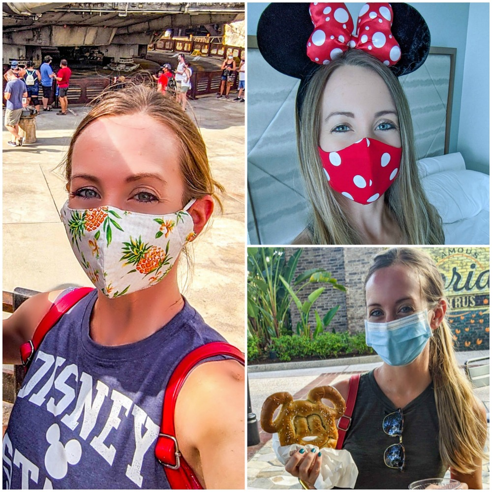 Visiting Disney World During the Pandemic: Everything You're Dying to Know | Disney World in 2020, what it's like to visit disney world right now. | multiple masks