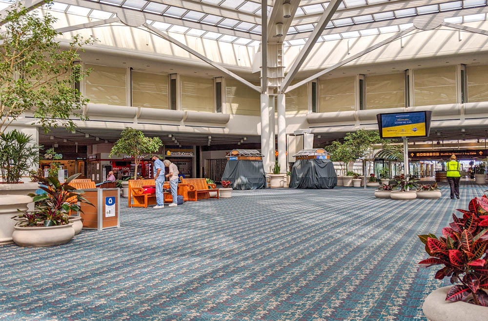 Visiting Disney World During the Pandemic: Everything You're Dying to Know | Disney World in 2020, what it's like to visit disney world right now. | empty orlando airport