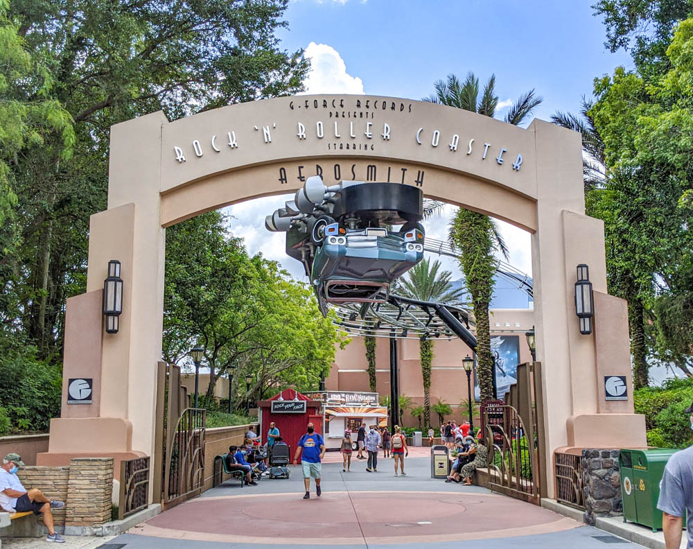 Visiting Disney World During the Pandemic: Everything You're Dying to Know | Disney World in 2020, what it's like to visit disney world right now. | Rock 'n' Roller Coaster at Hollywood Studios