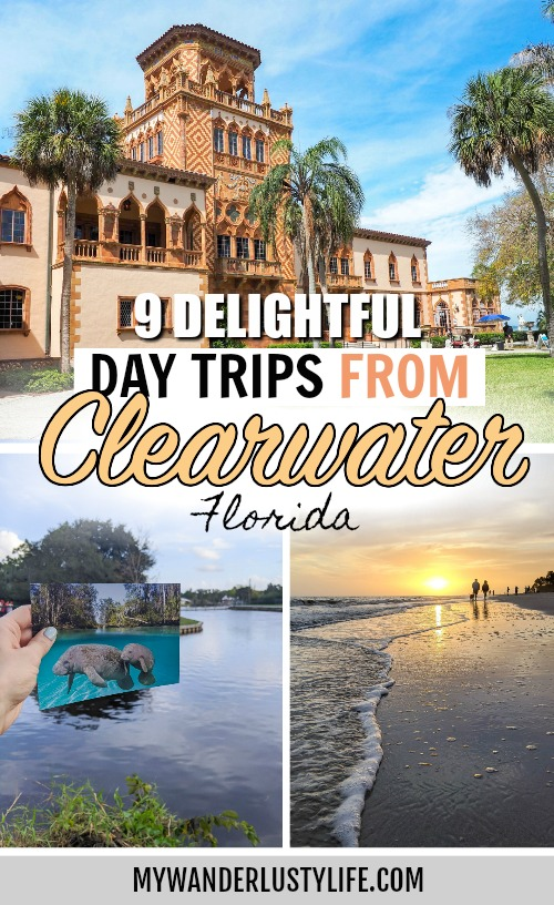 9 Delightful Day Trips from Clearwater: Florida One Tank Trips - Day trips from Clearwater Beach to places like St. Petersburg, Sarasota, Ft Myers, Weeki Wachee, Tarpon Springs, Orlando and Disney World, Tampa and Ybor City #florida #mywanderlustylife #clearwater
