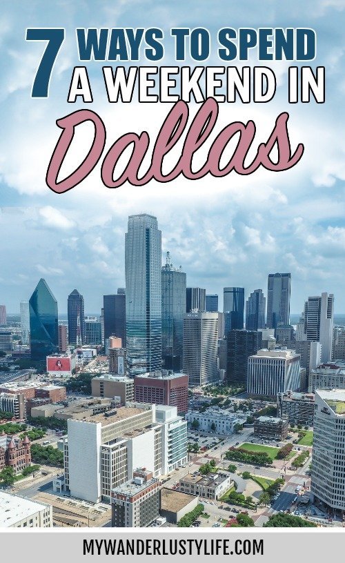 7 Worthwhile Ways to Spend a Weekend in Dallas, Texas | Things to do in Dallas, 2 days in Dallas | Reunion Tower, 6th Floor Museum, Dealey Plaza, and more #mywanderlustylife #dallas #texas