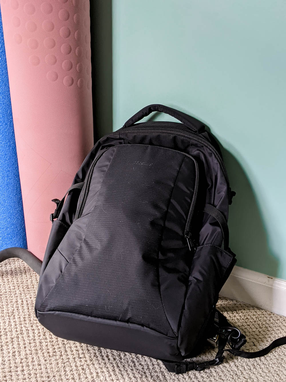 Pacsafe theft-proof backpack | Must-Have Travel Safety Items: 17 Essentials for Your Travel Safety Kit | Travel health and safety | solo female travel safety