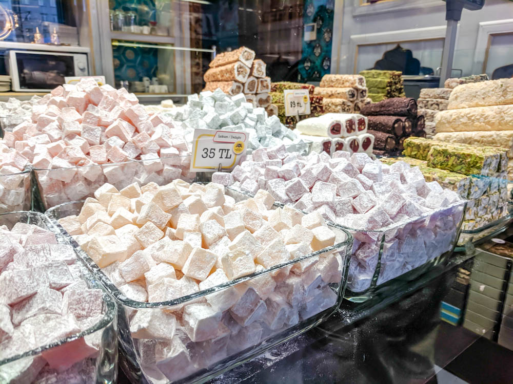 Turkish delight in Istanbul | Must-Have Travel Safety Items: 17 Essentials for Your Travel Safety Kit | Travel health and safety | solo female travel safety